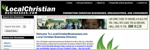 Local Christian Businesses - Wisconsin